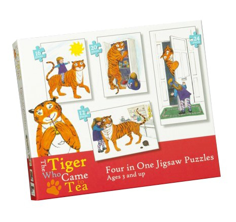 The Tiger Who Came to Tea (Four-in-One Puzzle)