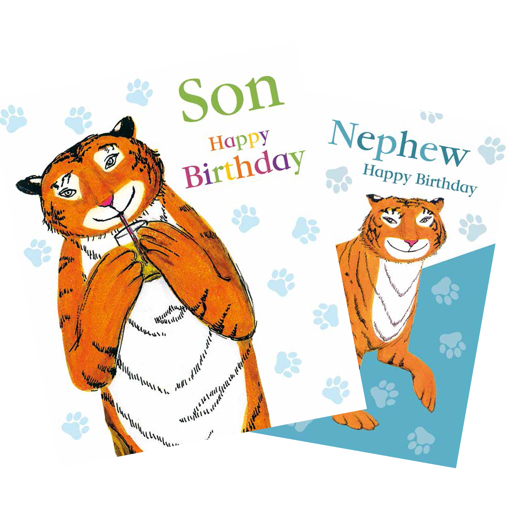 The Tiger Who Came to Tea (Greeting Cards)