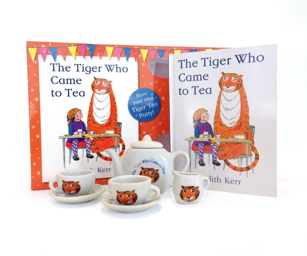 The Tiger Who Came to Tea (China Tea Set)