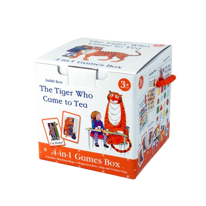 The Tiger Who Came to Tea (Four-in-One Games Cube)