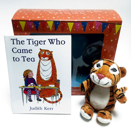 The Tiger Who Came to Tea book and toy gift set