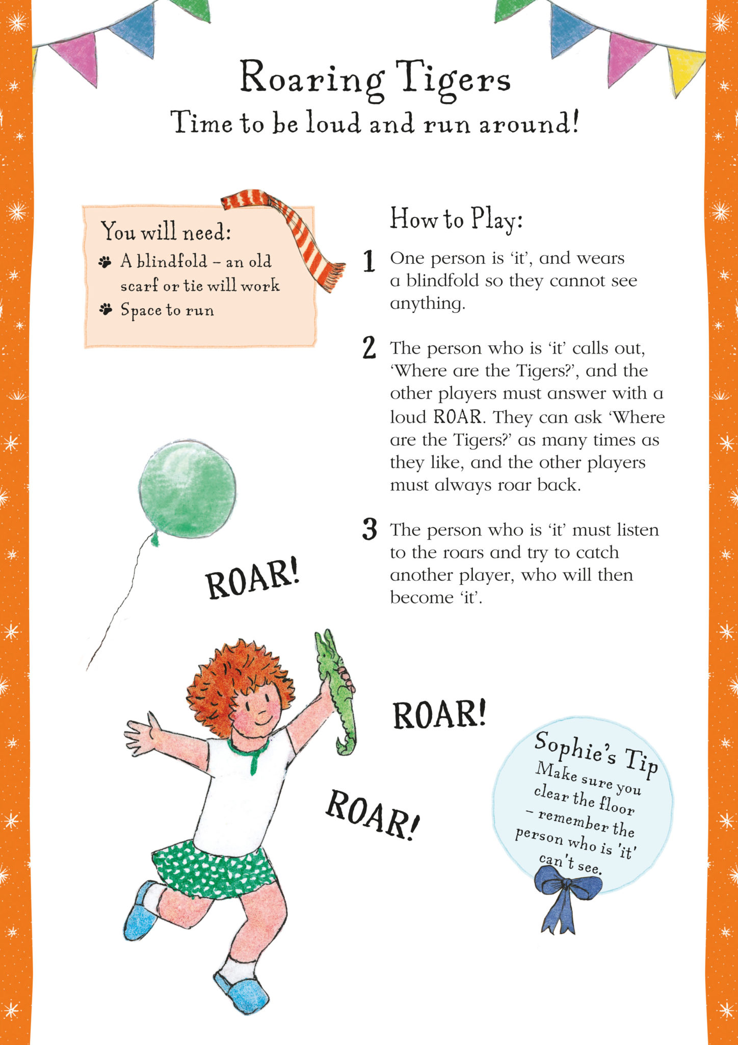 Party Game: Roaring Tigers