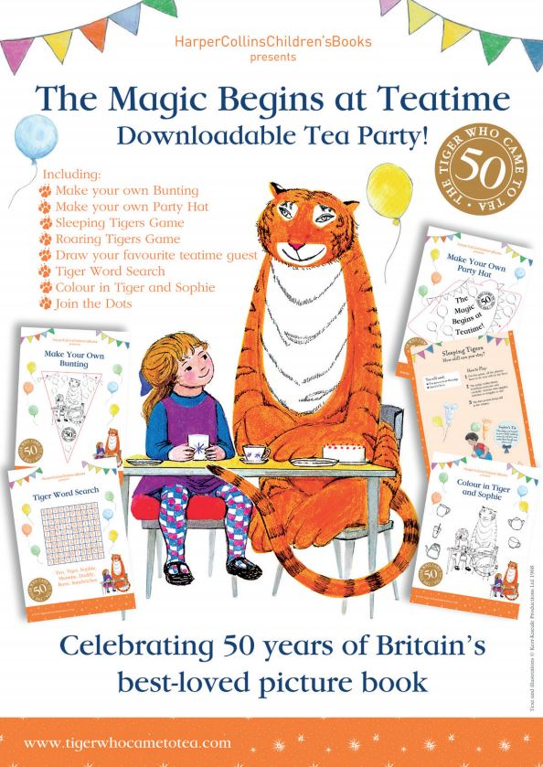 The Magic Begins at Teatime    - The Tiger Who Came to Tea