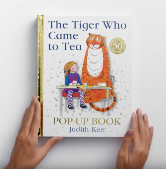 The Tiger Who Came to Tea by Judith Kerr Pop Up Book