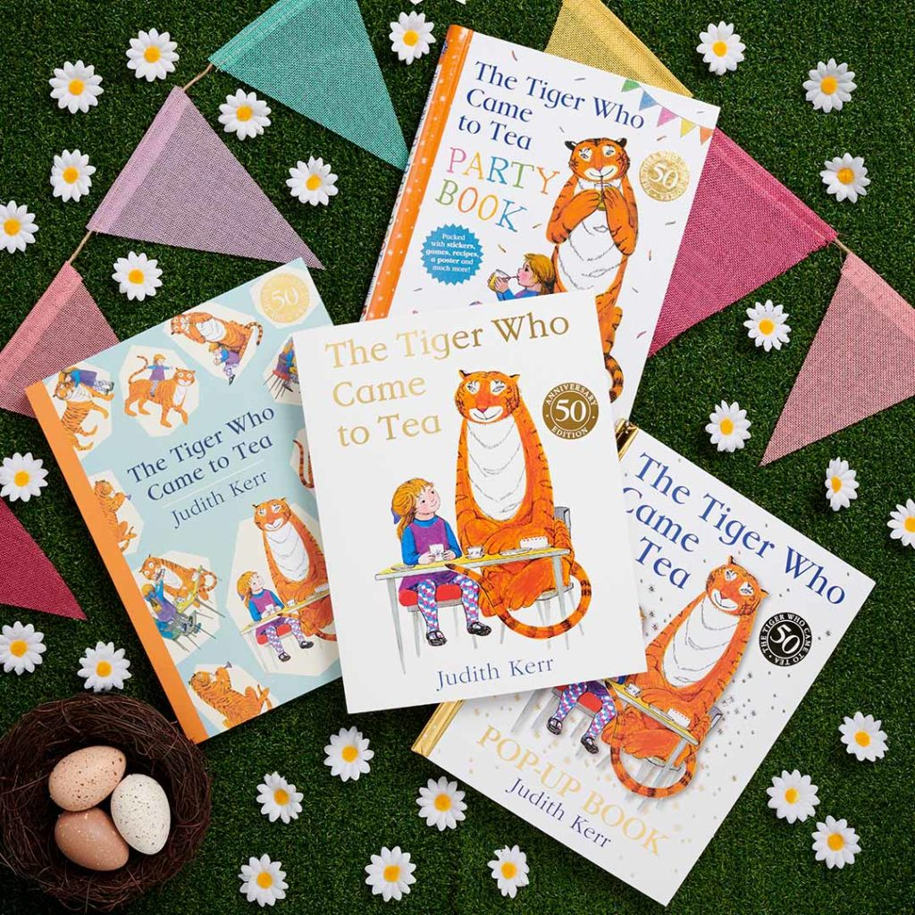 The Tiger Who Came to Tea Easter Giveaway